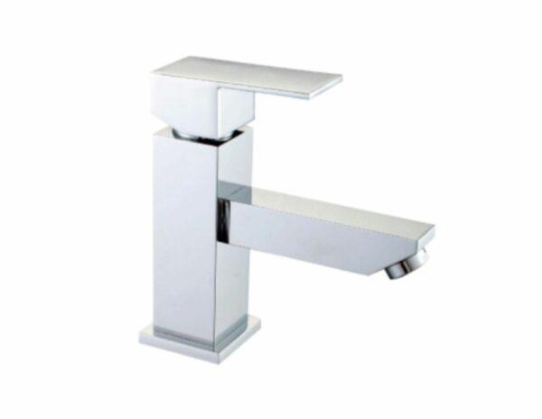 Monomando de lavabo bajo - Akasha Cube
