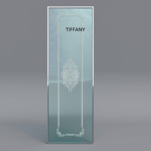 Mampara de ducha serigrafiado TIFFANY