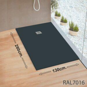 Plato-de-ducha-gigante-RAL7016